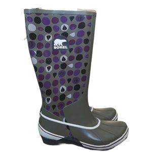 Sorel Sorellington Rain Boot Wellie Waterproof 8